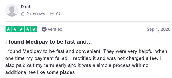 Trustpilot review 2